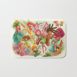Goblins Drool, Fairies Rule! - Team Fairy Bath Mat