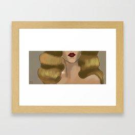 Girl2 Framed Art Print