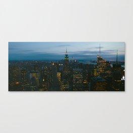 Manhattan is Never Dark Canvas Print