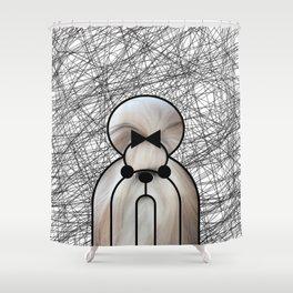Shin-Tzu Dog Shower Curtain