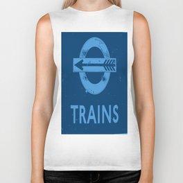 London Underground Biker Tank