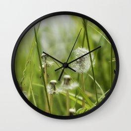 Three-Quarters of a Wish Left Wall Clock