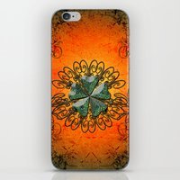 decorative iPhone & iPod Skins featuring Decorative design by nicky2342