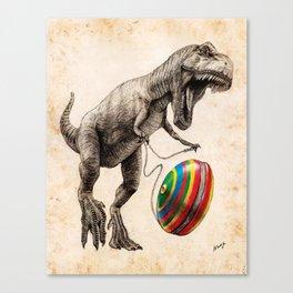 Jurassic yoyo Canvas Print