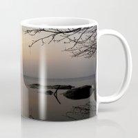 calm Mugs featuring calm by  Agostino Lo Coco