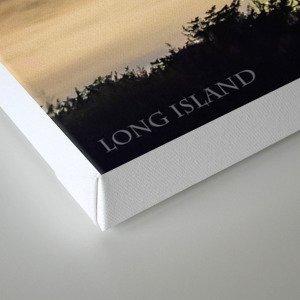Fire Island Lighthouse - Long Island - New York. Canvas Print