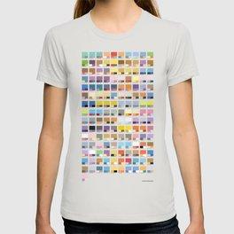 Poke-Pantone 1 (Kanto Region) T-shirt
