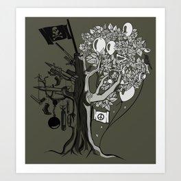 Death Tree Art Print