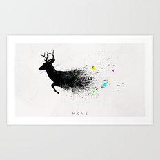Move Art Print