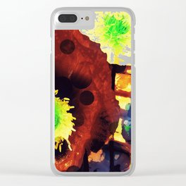 Les coquelicots [2] Copper tremens Clear iPhone Case