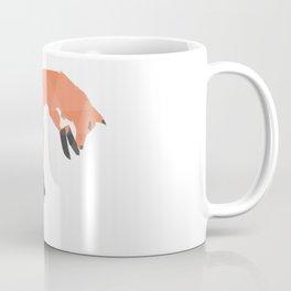 Pouncing Geometric Fox Coffee Mug