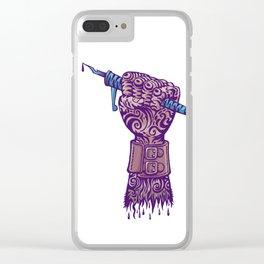 Maori Tattoo Clear iPhone Case