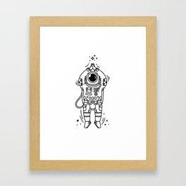 Cosmic Stranger 2 Framed Art Print