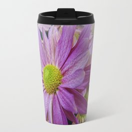 Lavender African Daisy Travel Mug