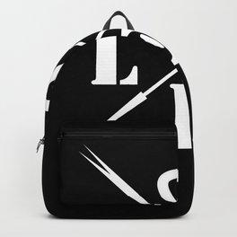 Valentine's day . Love .2 black Backpack