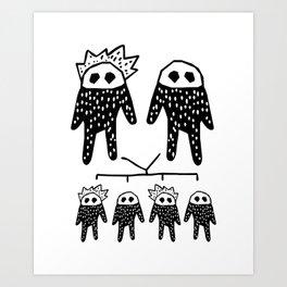 Genetics Art Print