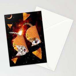 Taco Cats Space Stationery Cards