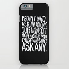 ANSWERS Slim Case iPhone 6s