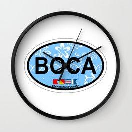 Boca Raton  - Florida. Wall Clock