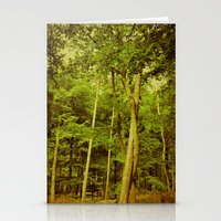 stand by me Stationery Cards featuring stand by me by Iris Lehnhardt