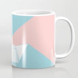 Simple origami swan Coffee Mug