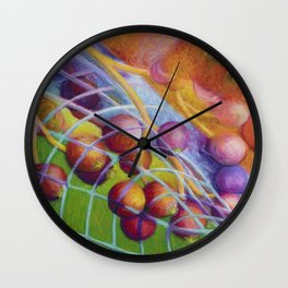 Caught in a Web Between Time and Space Wall Clock