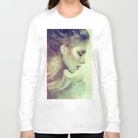kpop Long Sleeve T-shirts featuring June by Anna Dittmann