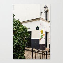 Alleyways of Paris Canvas Print