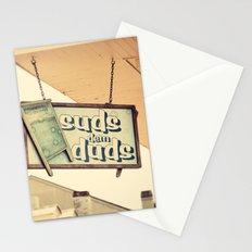 Suds dem Duds Stationery Cards