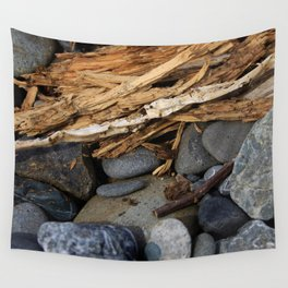 Rocks and Kindling Wall Tapestry