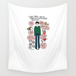 Seth Cohen, Perfection Wall Tapestry