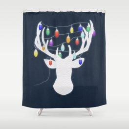 Strange Holidays Shower Curtain