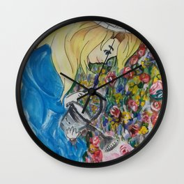 The Florist Wall Clock