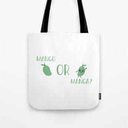 Mango Or Manga (2) Tote Bag
