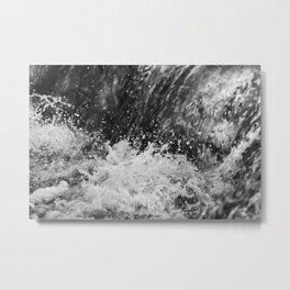 Splashing Water 4 Metal Print