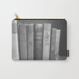 Old Worn Books Carry-All Pouch