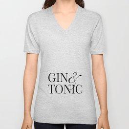 Gin&Tonic Unisex V-Neck