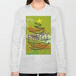 Funky Christmas Long Sleeve T-shirt