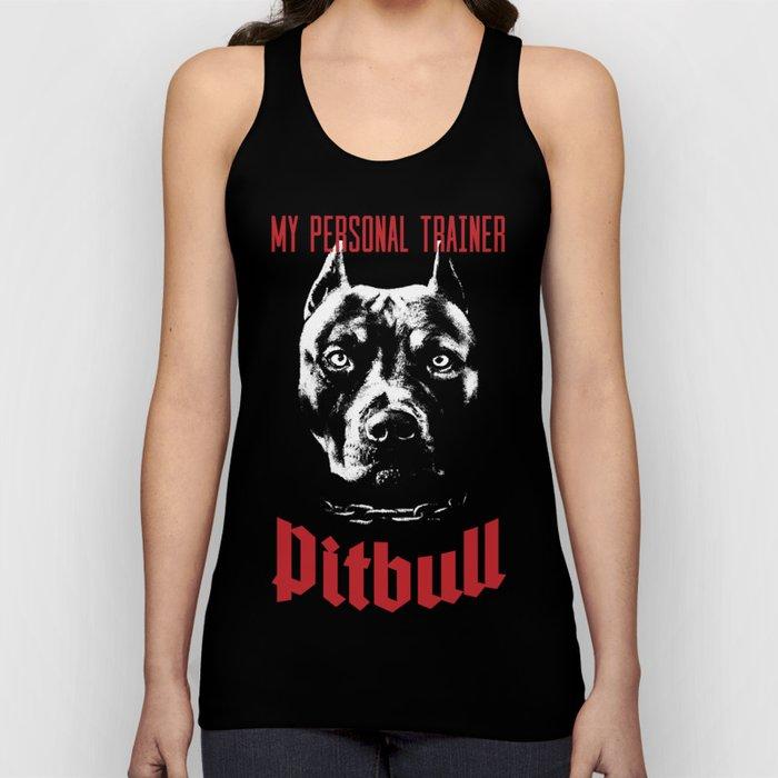 Pitbull My Personal Trainer Unisex Tank Top