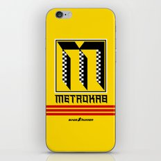 BladeRunner- MetroKab iPhone & iPod Skin