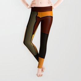 Mondrian Autumn Leggings