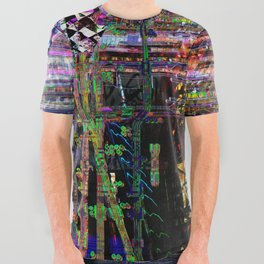 synthFest t-shirt v2 All Over Graphic Tee