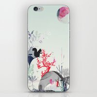 squirrel iPhone & iPod Skins featuring squirrel by bachullus