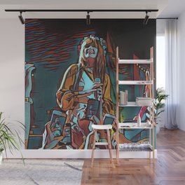 Abstract Concert painting Wall Mural