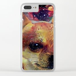 The CHIHUAHUA from our POP YOUR POOCH line Clear iPhone Case