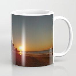 Shack by the sea at sunrise Coffee Mug