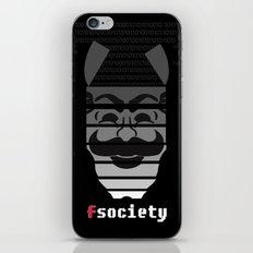 Fsociety iPhone & iPod Skin
