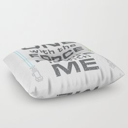 Force is with Me - Both Floor Pillow