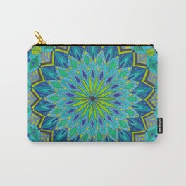 Inwards Mandala Carry-All Pouch