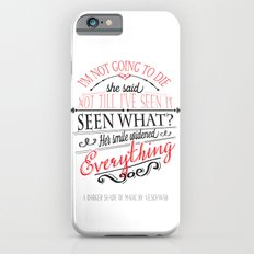 A DARKER SHADE OF MAGIC by V.E.Schwab - Book Quote iPhone 6 Slim Case